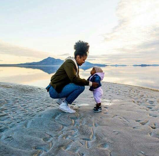 IG: @jasminealston (Bonneville Salt Flats, Utah)